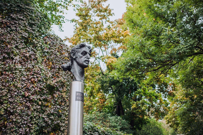 Franko Zappos skulptūra