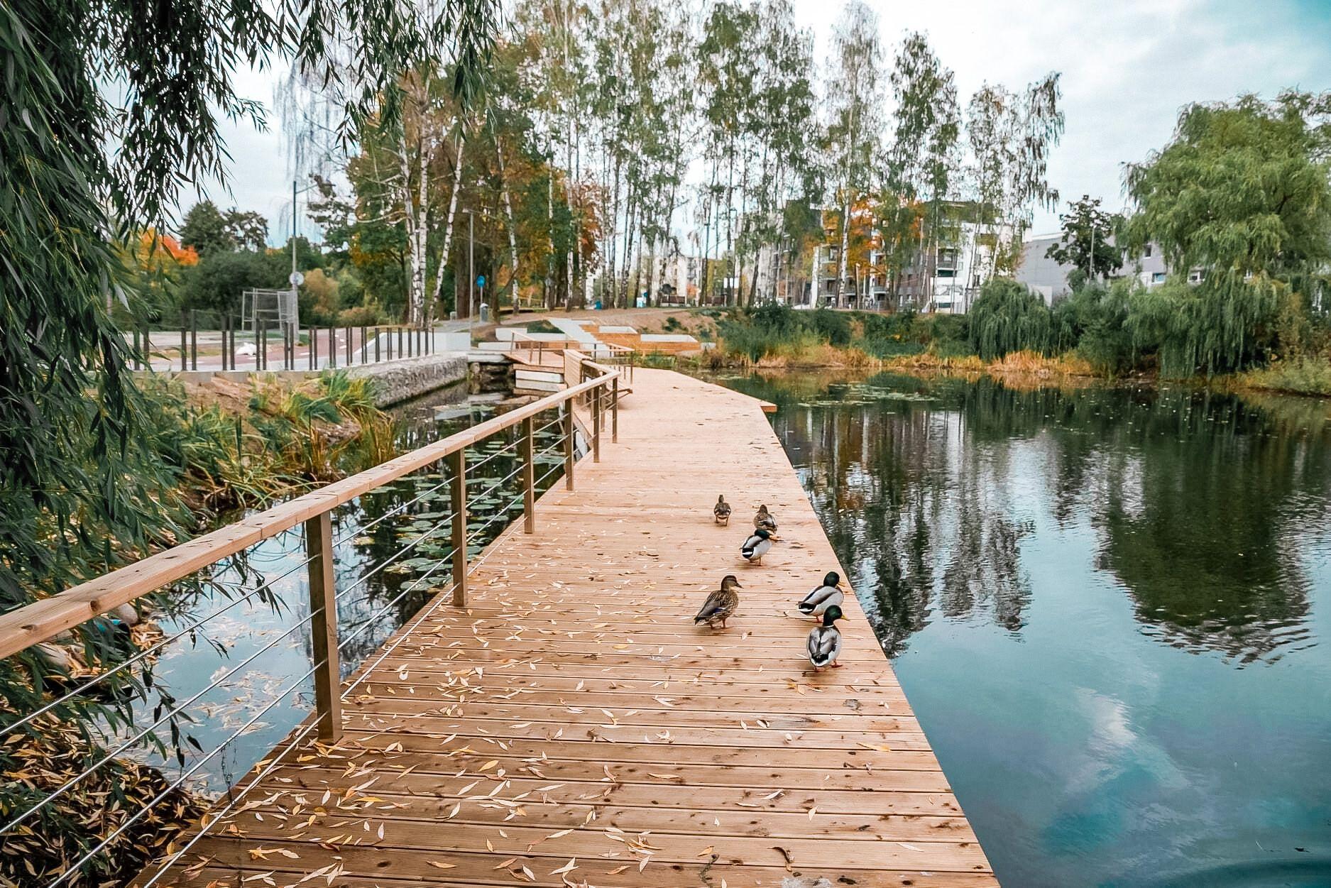 Neries senvagės parkas