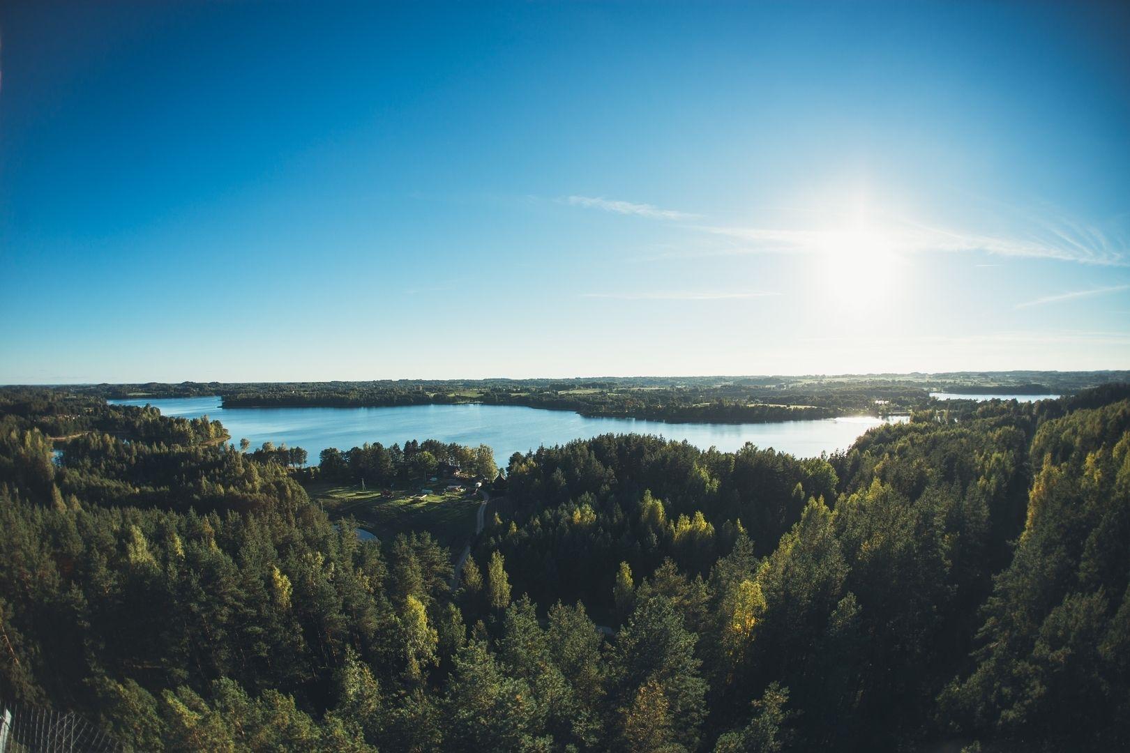 Šiliniškių (Ginučių) apžvalgos bokštas – apžvalgos aikštelė