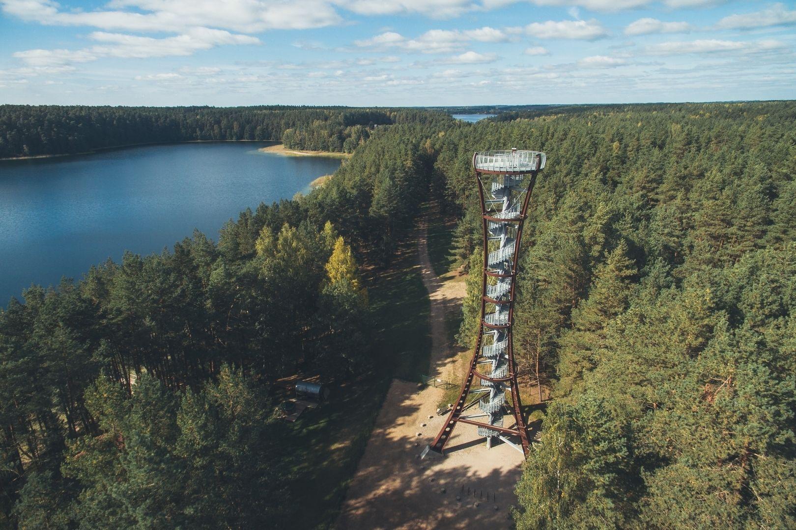 Labanoro regioninio parko (Mindūnų) apžvalgos bokštas